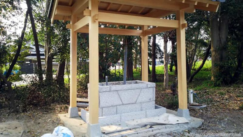 菱妻神社の手水舎