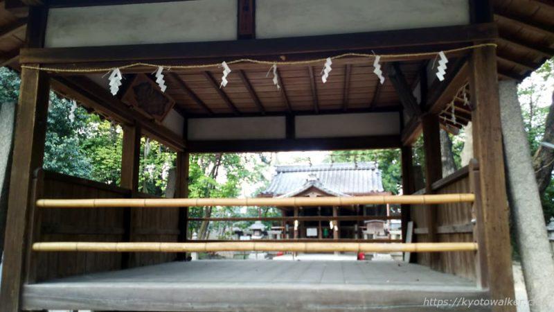 嚴嶌神社 拝殿越しの社殿 20190407
