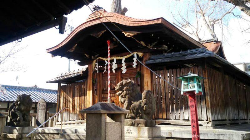 宇賀神社 社殿