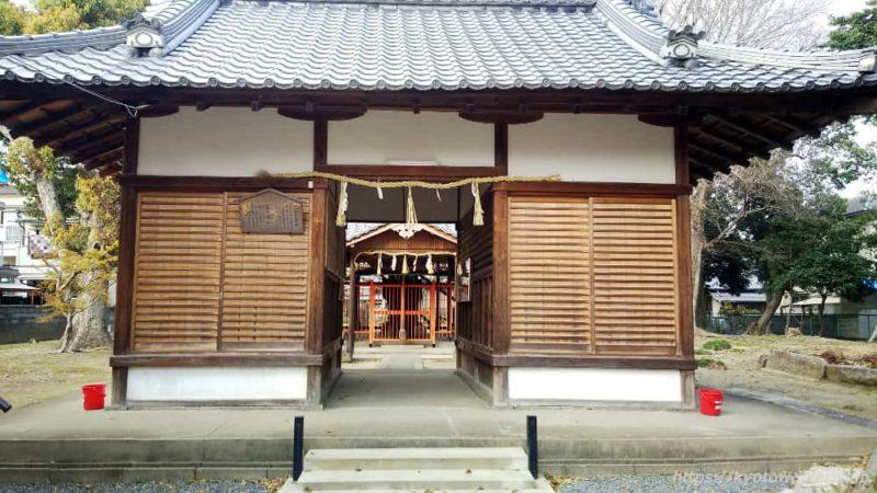 木下神社の割拝殿 20190407