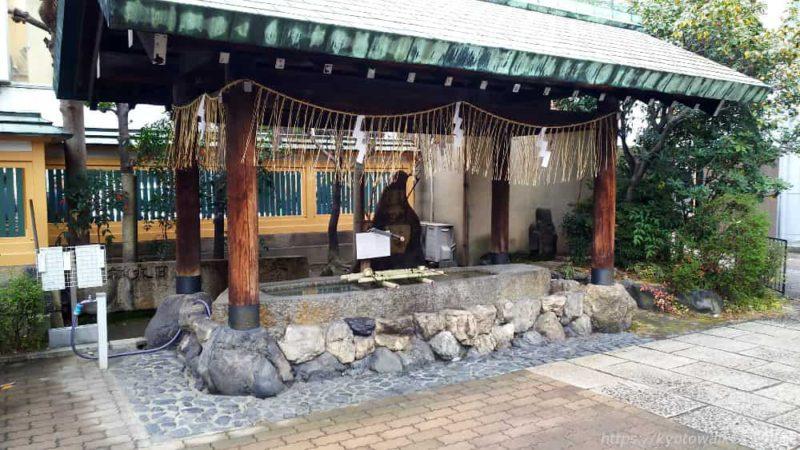 京都大神宮 手水舎 20190303