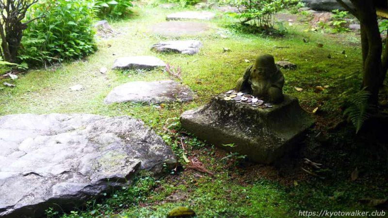 長楽寺の相阿弥作の園池