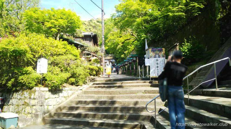 長楽寺への参道