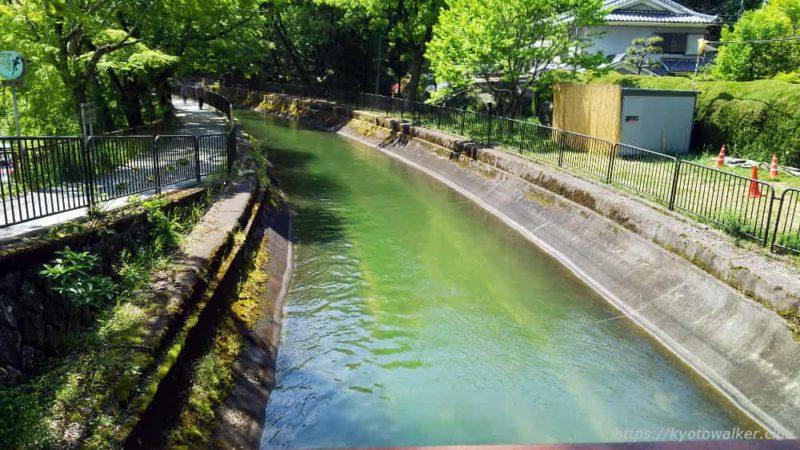 安祥寺橋から見た琵琶湖疏水