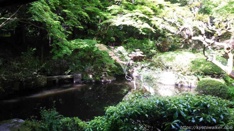長楽寺 相阿弥作の園池