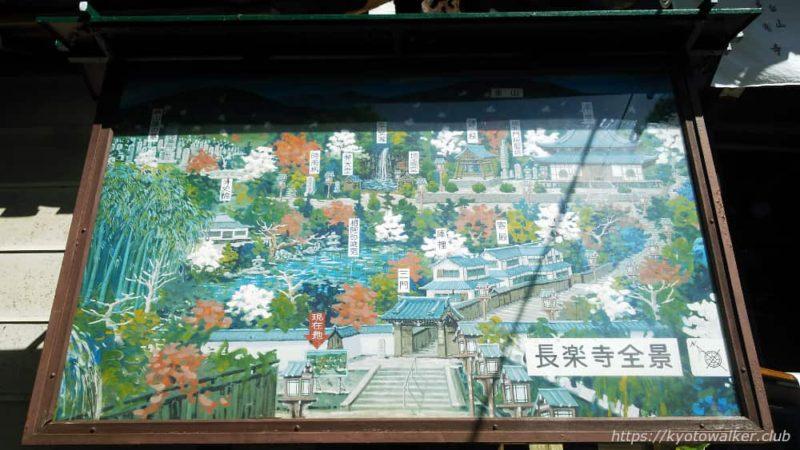 長楽寺案内図
