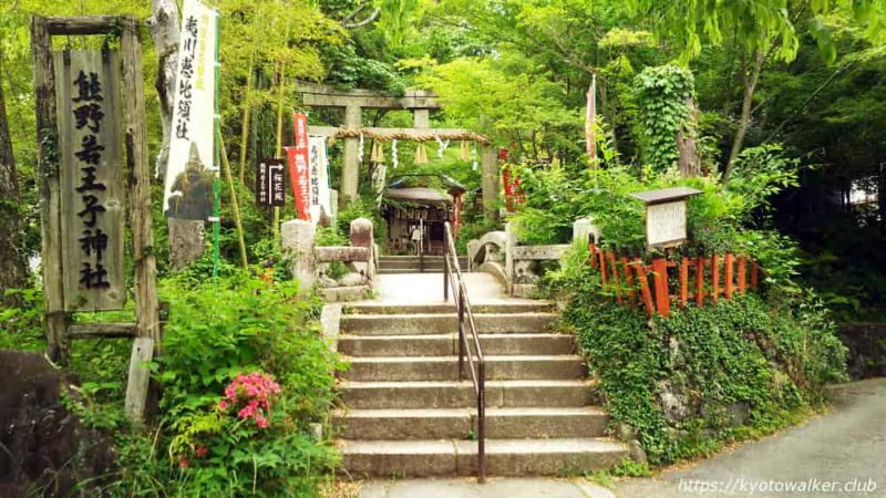 熊野若王子神社 鳥居 20190602