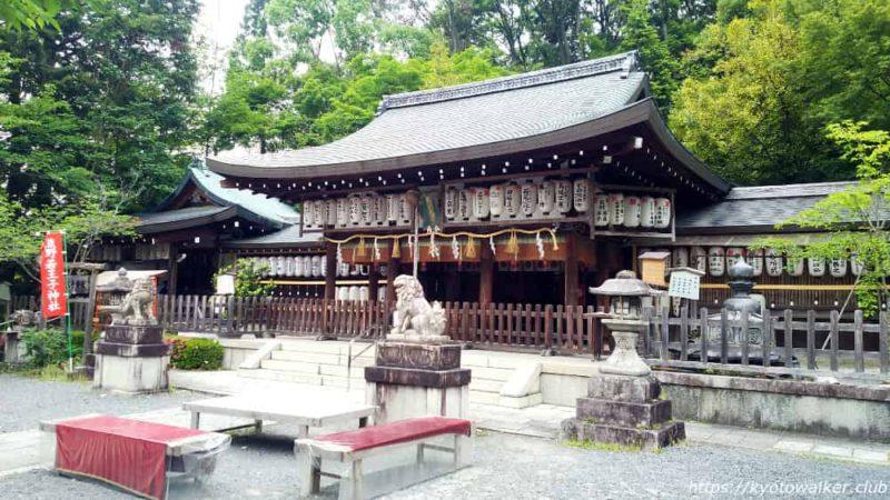 熊野若王子神社 授与所前から 20190602