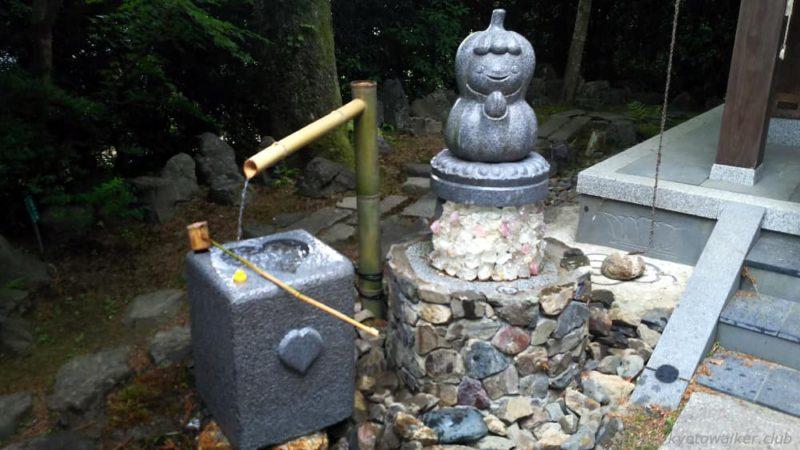 安楽寺地蔵堂 かぼちゃの水掛地蔵 20190602