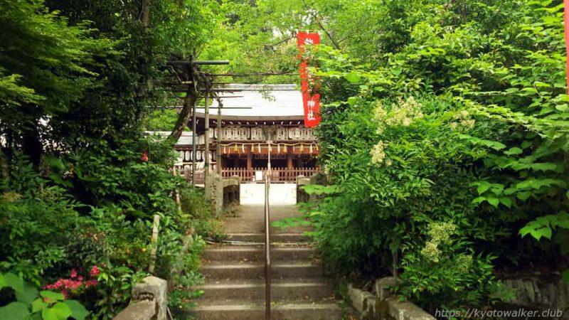 熊野若王子神社 道路から 20190602