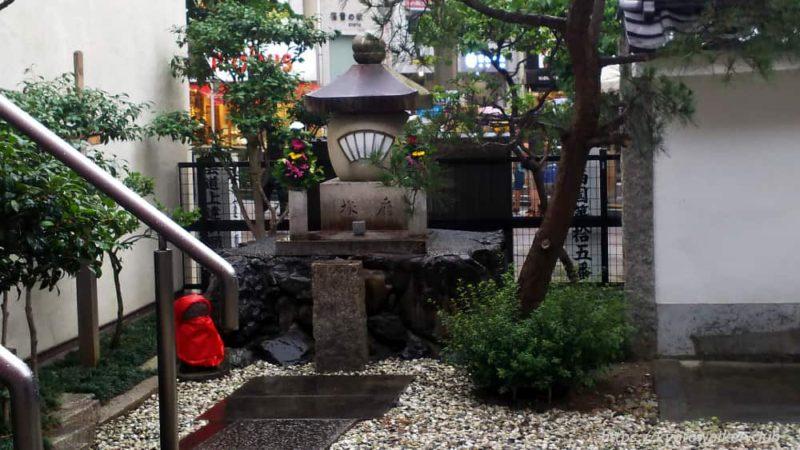 誓願寺の扇塚 20190610