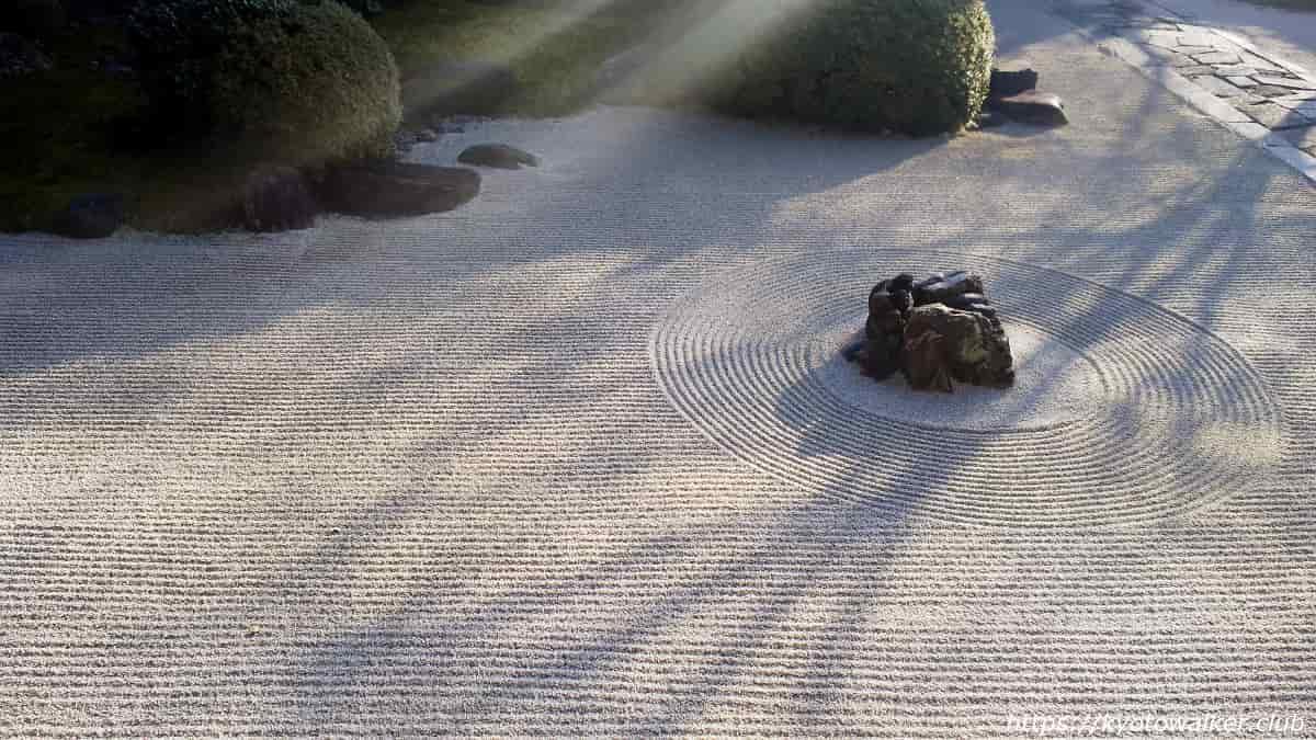 妙顕寺 四海唱導の庭 20200102