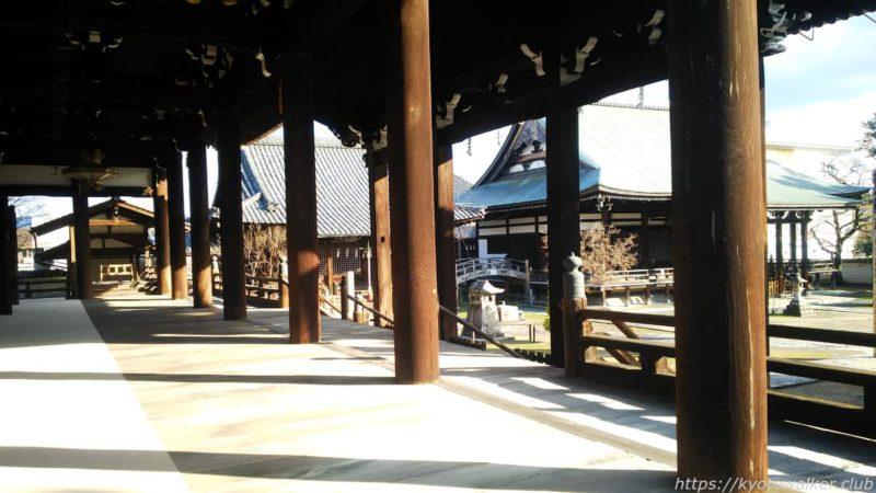妙顕寺 本堂舞台 20200102