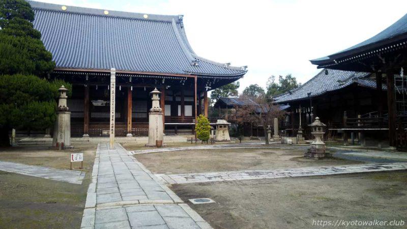 妙顕寺 境内の様子 20200102