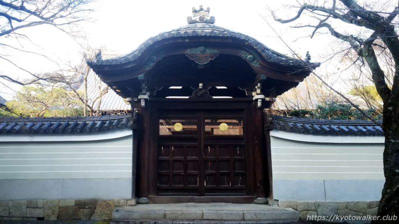 妙顕寺 勅使門 20200102