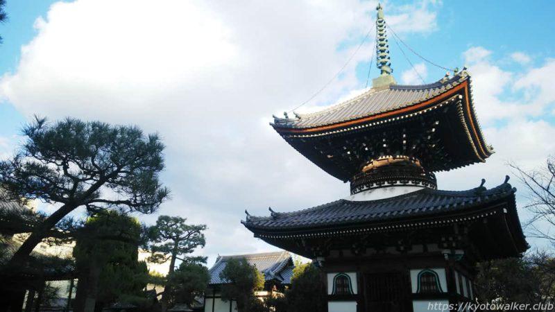 本法寺 多宝塔 20200102
