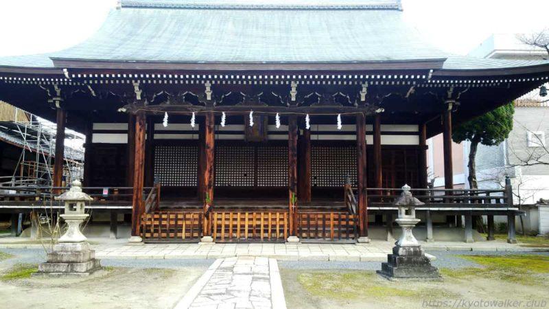 妙顕寺 三菩薩堂 20200102
