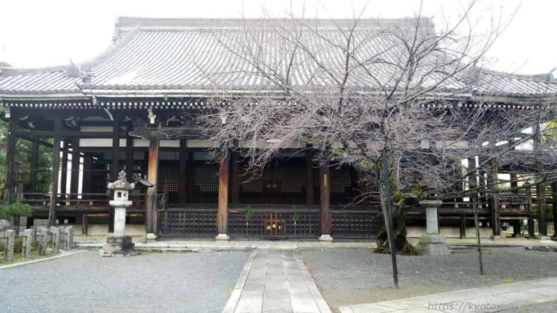 本法寺 本堂 20200102