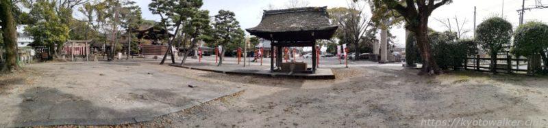 豊国神社 境内の様子 20210317