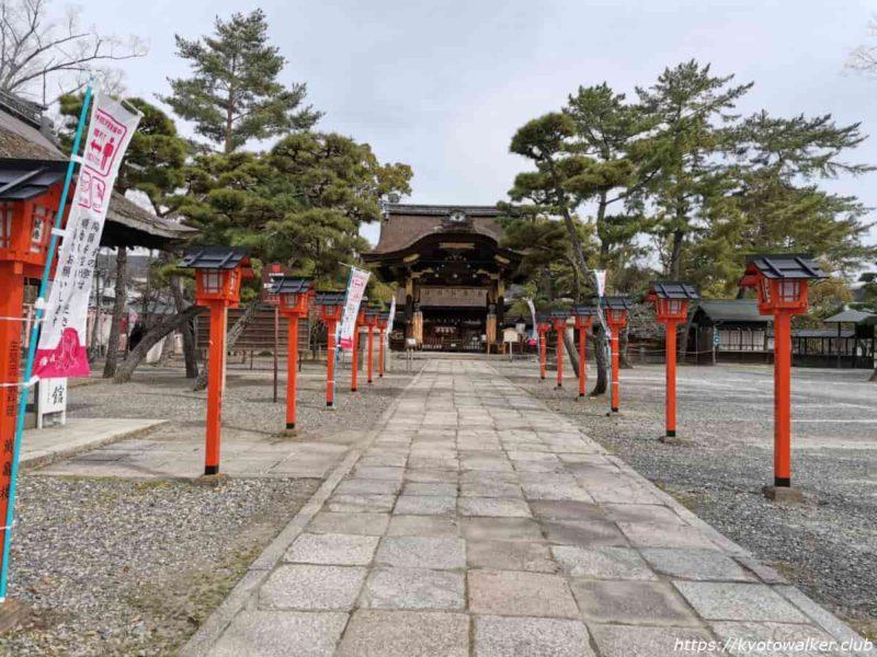 豊国神社 正面から 20210317