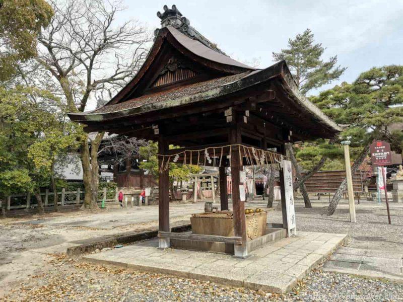 豊国神社 手水舎 20210317