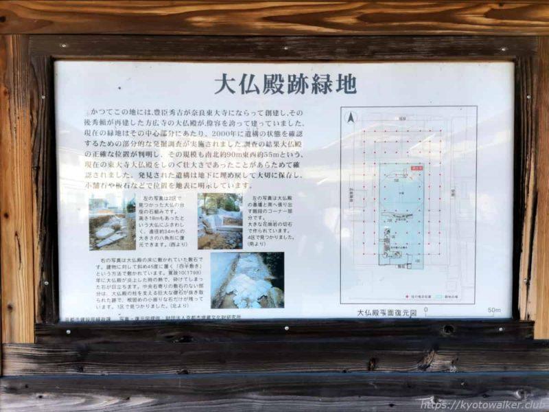 方広寺 大仏殿跡緑地 20210303