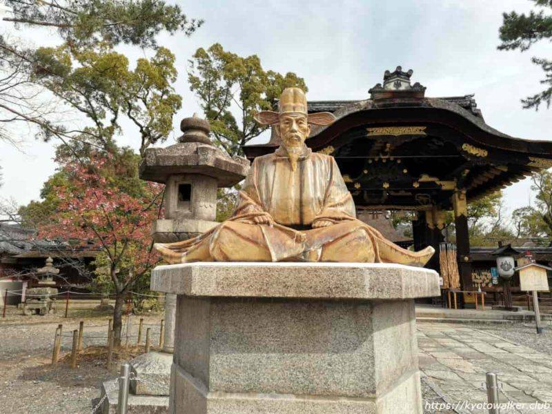 豊国神社 秀吉像 20210317