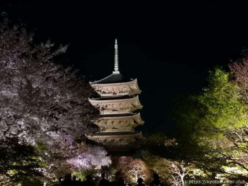 東寺 五重塔 20210331