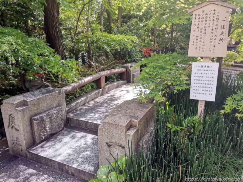 晴明神社 旧一条戻橋 20210418