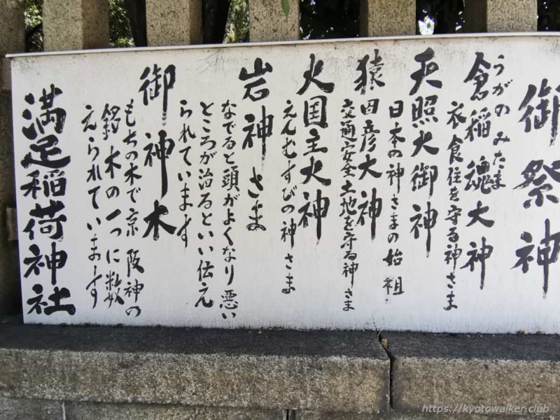 満足稲荷神社 御祭神 20210411